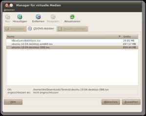 Ubuntu Live-CD als Secondary Master