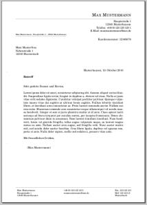 mein erster Brief mit LaTeX – Meinnoteblog\'s Blog