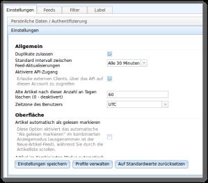 API aktivieren